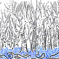 The Forest For The Trees An Aceo by Regina Valluzzi