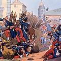 The French Legion Storming A Carlist by English School