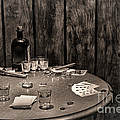 The Gambling Table by Olivier Le Queinec