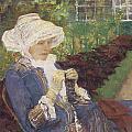 The Garden by Mary Cassatt