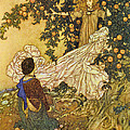 The Garden Of Paradise IIi by Edmund Dulac