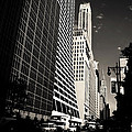 The Grace Building And The Chrysler Building - New York City by Vivienne Gucwa