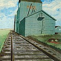 The Grain Elevator by Anthony Dunphy