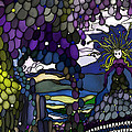 The Grape Arbor Medusa by Constance Krejci