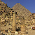 The Great Pyramids Giza Egypt  Print by Ivan Pendjakov