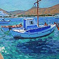 The Harbor  Tinos by Andrew Macara