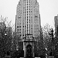 The Herald Square Building In The Rain Herald Square Broadway And 6th Avenue New York City Nyc by Joe Fox