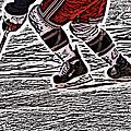 The Hockey Player by Karol Livote