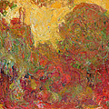 The House Seen From The Rose Garden by Claude Monet