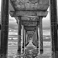 The Iconic Scripps Pier by Larry Marshall