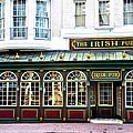 The Irish Pub - Philadelphia by Bill Cannon