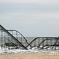 The Jetstar Rollercoaster In Seaside Heights Nj by Living Color Photography Lorraine Lynch