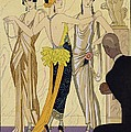 The Judgement Of Paris by Georges Barbier