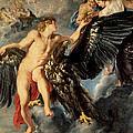 The Kidnapping Of Ganymede by Rubens
