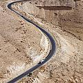 The King's Highway At Wadi Mujib Jordan by Robert Preston