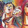 The Ladies Of Loket In The Czech Republic by Miki De Goodaboom