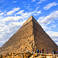 The Last Ancient Wonder - Egyptian Pyramid by Mark E Tisdale