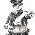 The Law Print by Murphy Elliott