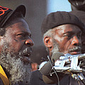 The Leaders Of A Local Antyracist Movement While Performing Their Speach During Toronto Riots 1992 by T Monticello
