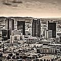 The Magic City Sepia by Ken Johnson