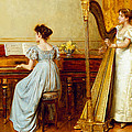 The Music Room by George Goodwin Kilburne