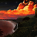 The Mussenden Temple - Ireland by Michael Rucker