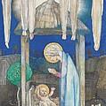 The Nativity Print by Edward Reginald Frampton