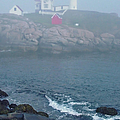 The Nubble Lighthouse At York Maine by Suzanne Gaff