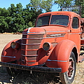 The Old Farm Truck 5D23971 Print by Wingsdomain Art and Photography