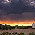 The Old Mission Chapel by Aaron S Bedell