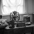The Old Table By The Window - Wonderful Memories Of The Past - 19th Century Table And Window by Gary Heller