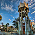 The Old Water Tower Of Tel Aviv by Ron Shoshani