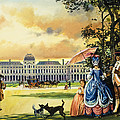 The Palace Of The Tuileries by Andrew Howat