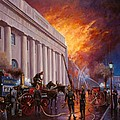 The Pantechnicon Fire. 1874. by Mike  Jeffries