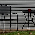 The Patio In Living Color by Rob Hans