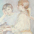 The Piano by Berthe Morisot