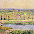 The Plain Of Gennevilliers From The Hills Of Argenteuil by Gustave Caillebotte