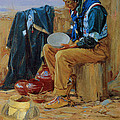 The Pottery Maker by Gerald Cassidy