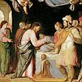 The Resurrection Of Jairus's Daughter by Santi Di tito