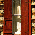 The Reynold's Cabin Window by Catherine Fenner