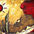 THE ROAD TO LIFE Original MADART Painting Print by Megan Duncanson