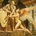 The Roll of Fate Print by Walter Crane