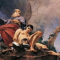 The Sacrifice Of Isaac by Giovanni Battista Tiepolo