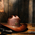 The Sheriff Office Print by Olivier Le Queinec