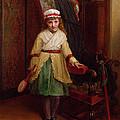 The Shuttlecock Player, 1874 by L. Davis