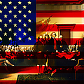 The Signing Of The United States Declaration Of Independence And Old Glory 20131220 by Wingsdomain Art and Photography