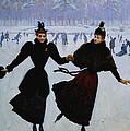 The Skaters by Jean Beraud