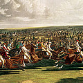 The Start Of The Memorable Derby Of 1844 by Charles Hunt