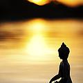 The Stillness of Sunrise Print by Tim Gainey