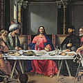 The Supper At Emmaus by Vittore Carpaccio
